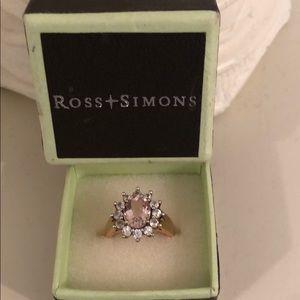 ROSS-SIMONS GENSTONE RING SZ 5.